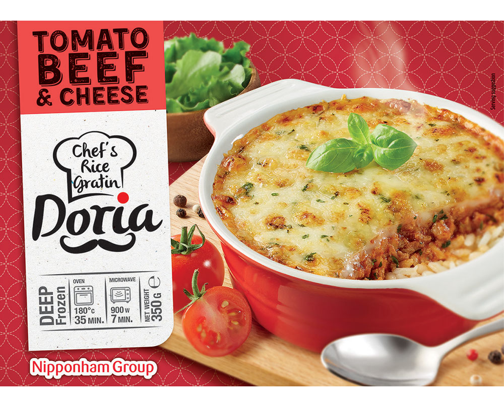 Tomato Beef Cheese Doria